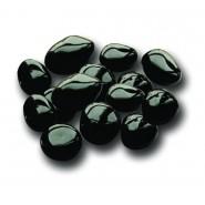 Lesklé lávové kameny (černé)